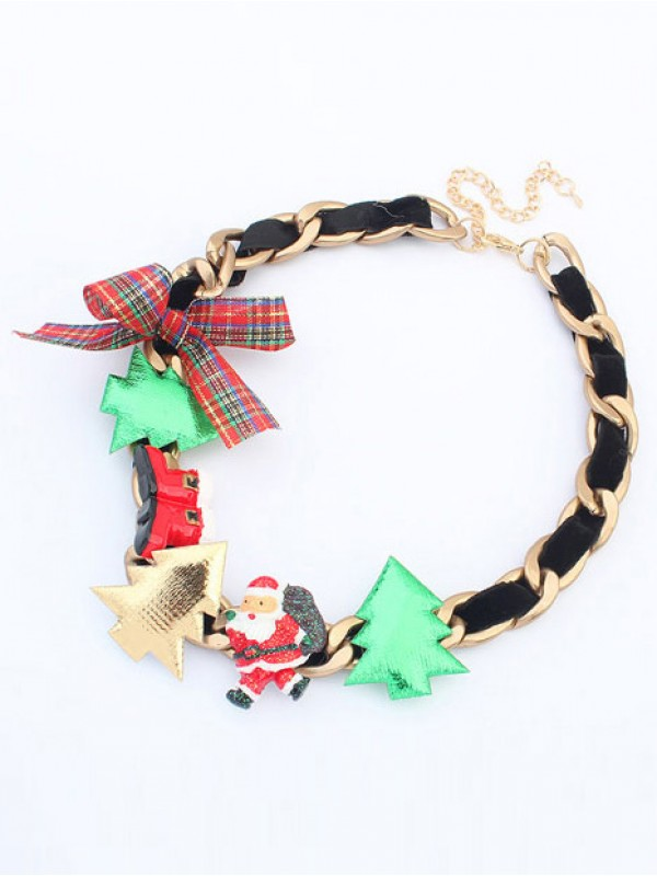 Occident Personality Christmas Series Hot Sale Necklace