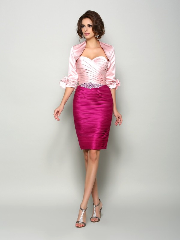 1/2 Sleeves Satin Special Occasion Wrap